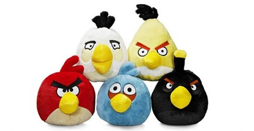 Angry Birds wins a prize for making money through merchandising
