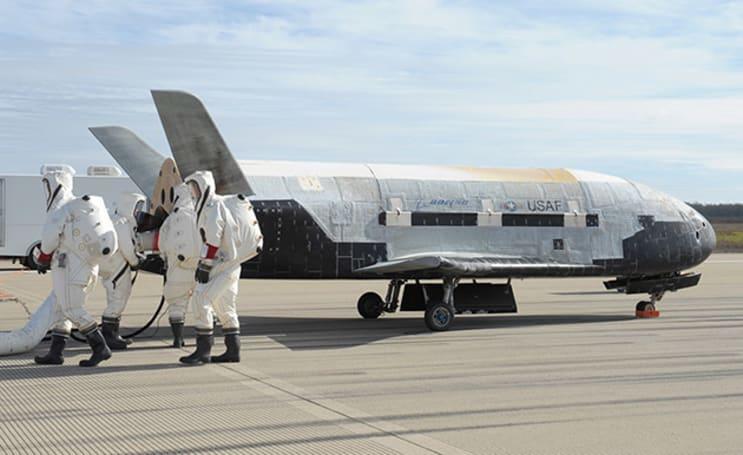Secretive drone will test materials for future spacecraft