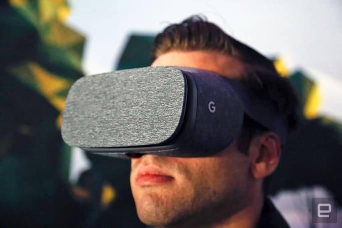 Google's Daydream View VR headset is available for pre-order