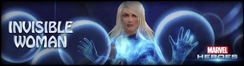 Marvel Heroes makes visible the Invisible Woman