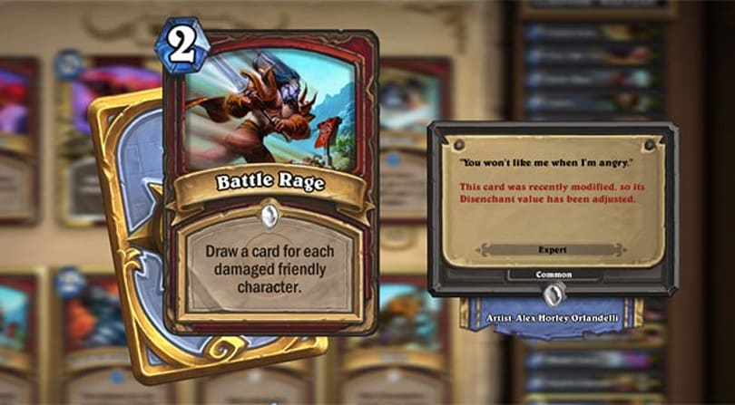 Hearthstone Highlight: Inducing Battle Rage