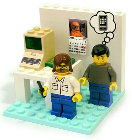 Young Woz and Jobs Playset from PodBrix on the way
