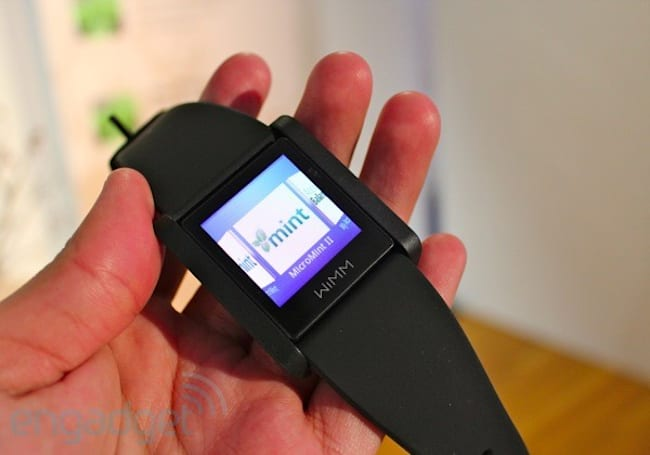 Intuit shows off MicroMint concept app for the WIMM One smartwatch, we go hands-on