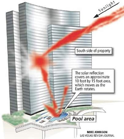 Vdara hotel 'death ray' claiming victims in the Las Vegas Strip