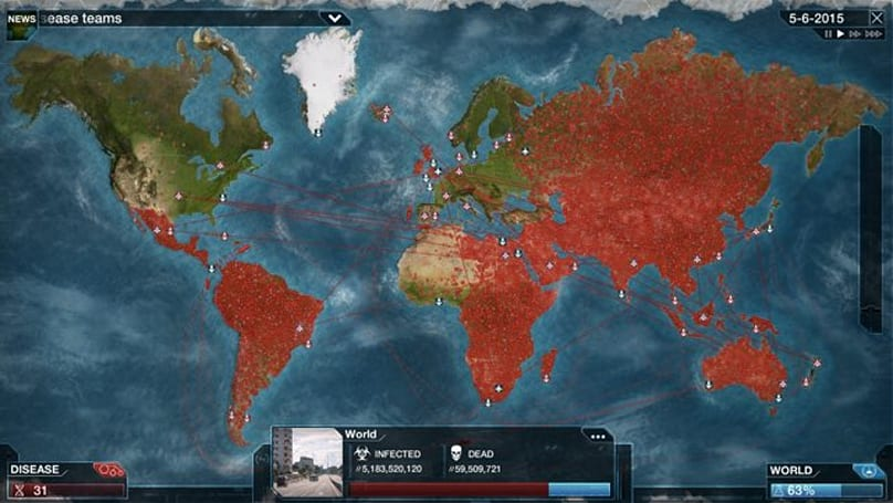 Ebola scare causes spike in Plague Inc game sales