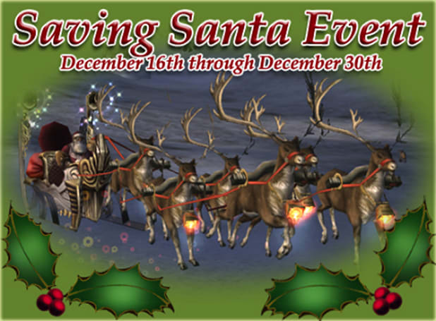 Celebrating the holidays with Lineage II's Saving Santa event