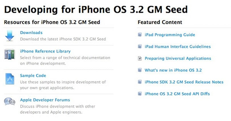 iPhone SDK 3.2 goes gold, seeded to paying dev program members