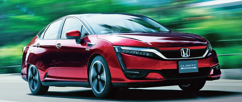 Honda's hydrogen-powered FCX Clarity goes on sale