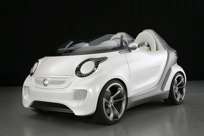Smart shows off Forspeed electric roadster concept