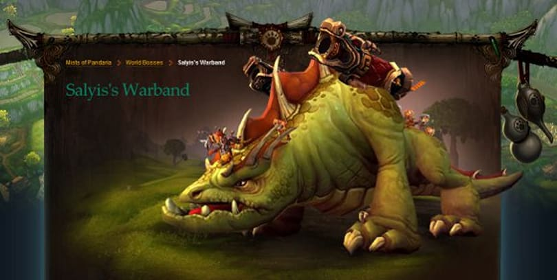 Mists of Pandaria Beta: World boss Salyis's Warband