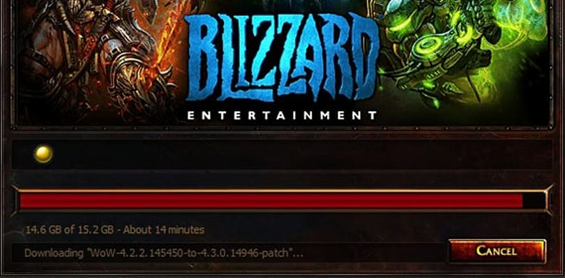 Patch 4.3: Background downloader now available
