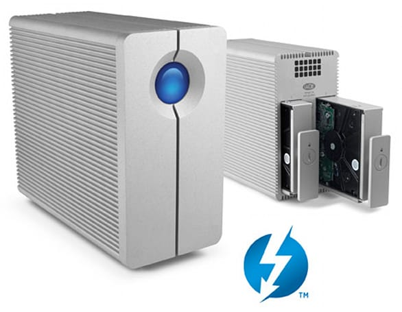 LaCie announces 2big and eSATA hub Thunderbolt options, adds to high-speed arsenal