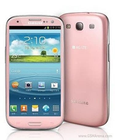 Samsung offers Galaxy S III in pink, but only in Korea to start