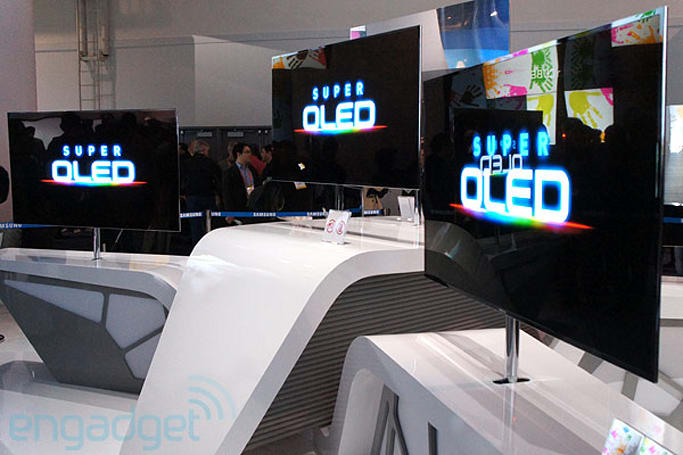 Samsung 55-inch Super OLED TV eyes-on (video)