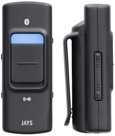 Jay's BlueStreamer A2DP adapter: a world's first, for Jens