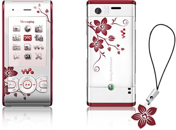Sony Ericsson's W595 Cosmopolitan Edition makes poor substitute for actual flora