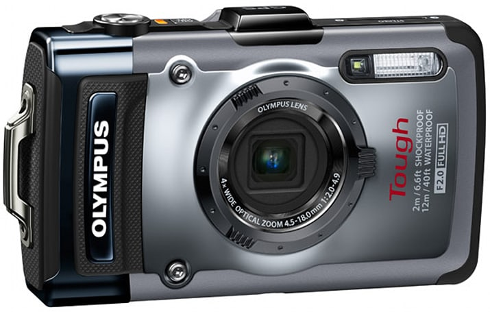 Olympus Tough TG-1 iHS packs 12-megapixel sensor, f/2.0 lens, ruggedized housing for $399