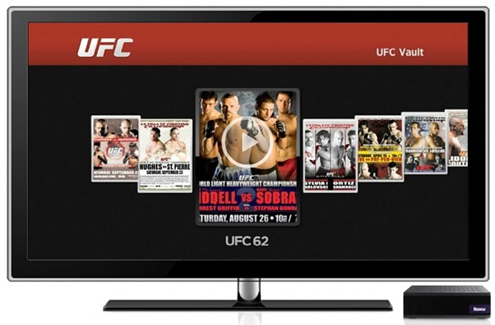 UFC pay-per-view comes to the Roku Player