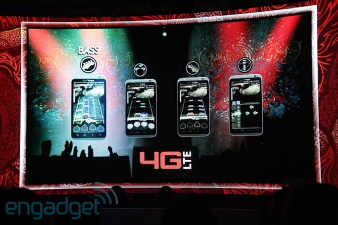 Rock Band Mobile will let four players jam over Verizon's 4G LTE network