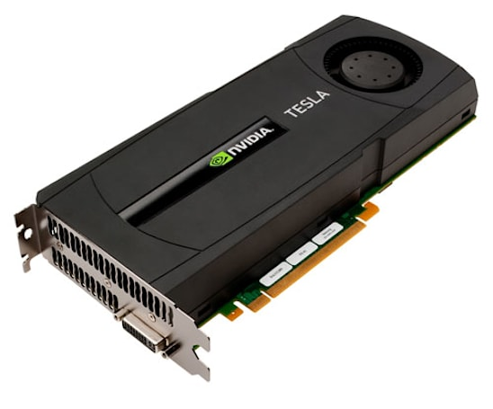 NVIDIA Tesla 20-series GPUs promise to dramatically cut supercomputing costs