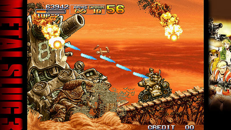 Metal Slug 3, fan-chosen Neo Geo games coming to PSN