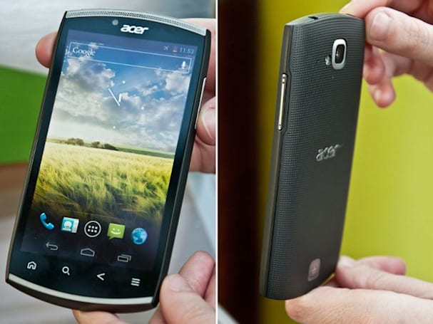 Acer's CloudMobile gets manhandled, sexy shell may hide Android secrets (video)