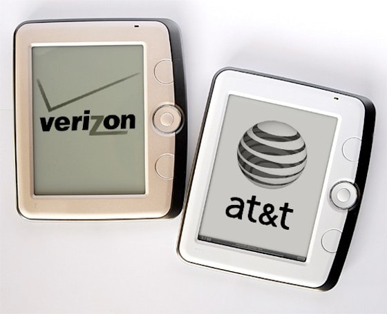 AT&T, Verizon looking to join e-book reader market?