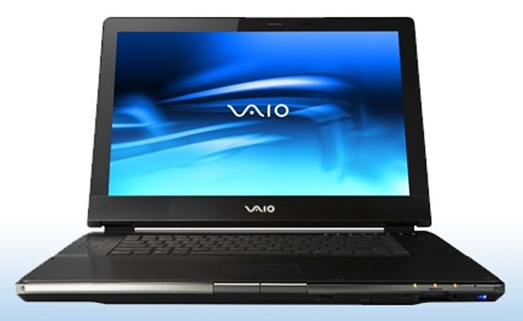 Sony's new VAIO AR600 series of 17-inch laptops