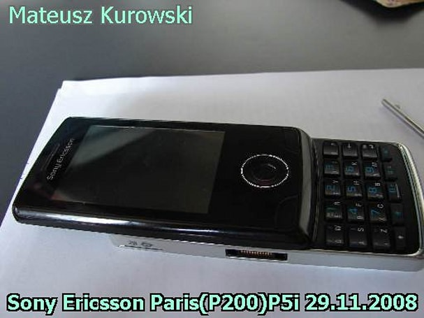 Sony Ericsson's Paris gets another postmortem tease