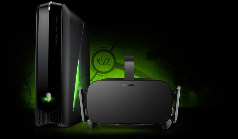 Alienware announces Oculus-ready PCs, teases OLED laptop