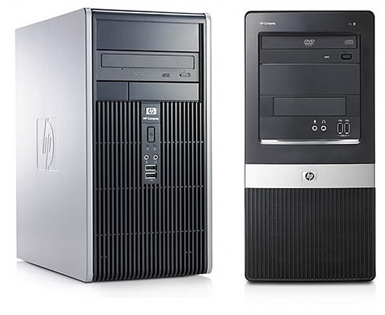 HP Compaq announces dc5850 and dx2450 Business Desktops