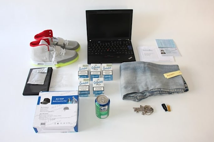 The Darknet-shopping robot has been released by Swiss police