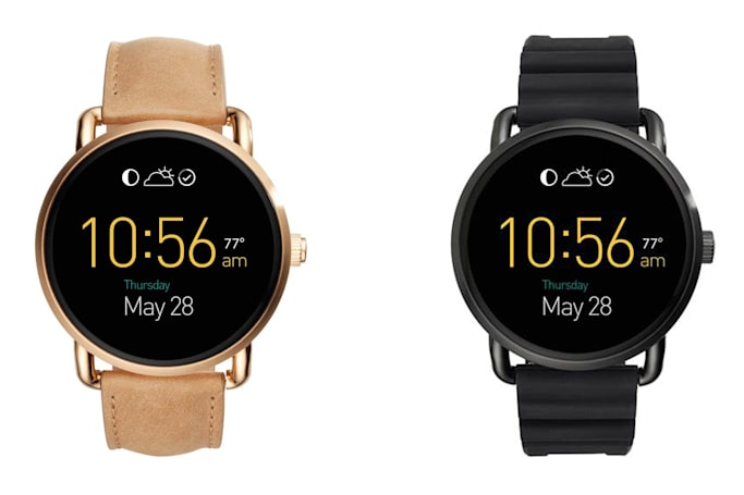 Fossil unveils 7 more wearables, including Android Wear watches