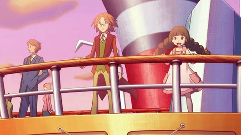 Zac and Ombra: Amusement Park of Illusion preview: B-layton-t imitation