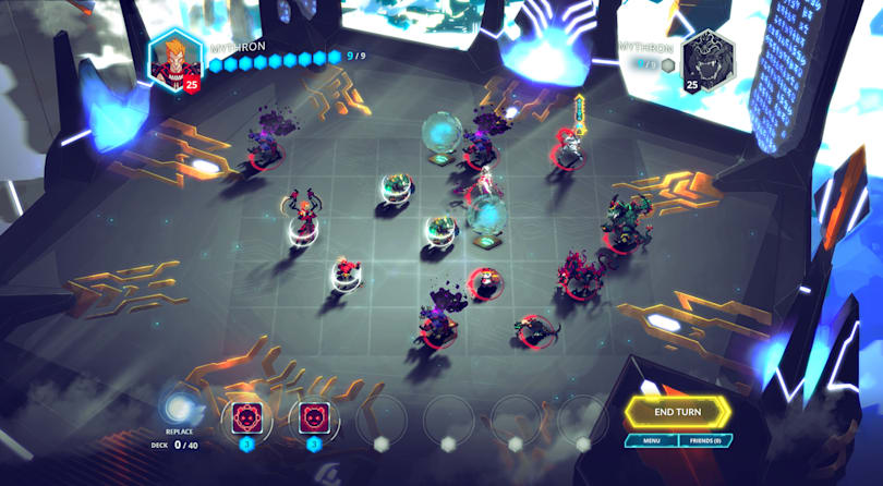 Gorgeous competitive tactics game 'Duelyst' is out today