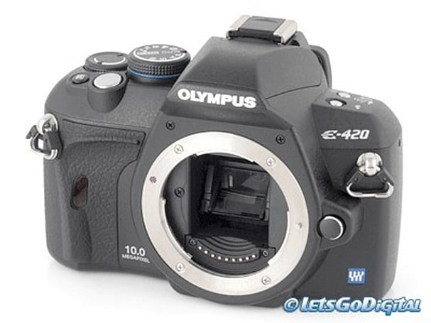 Olympus E420 DSLR gets reviewed