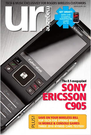 Rogers Wireless' own UR magazine outs Sony Ericsson C905?