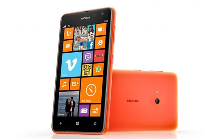 How would you change Nokia's Lumia 625?