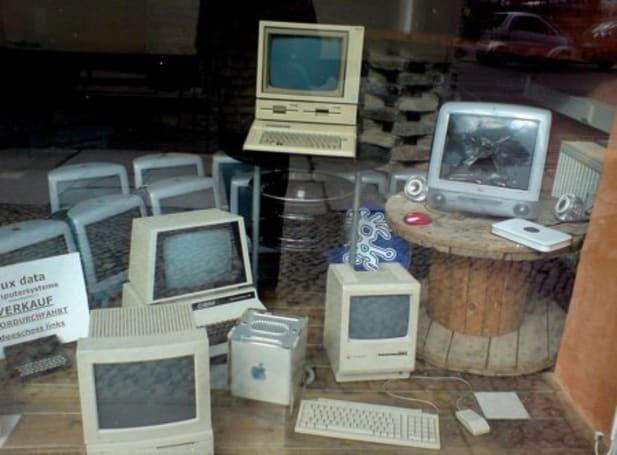 A Mac graveyard