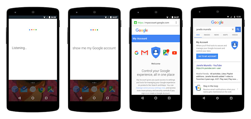 Google makes it easy to find lost phones and access My Account