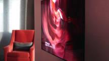 Die neuen Fernseher von LG sind nur 2,6 Millimeter dick