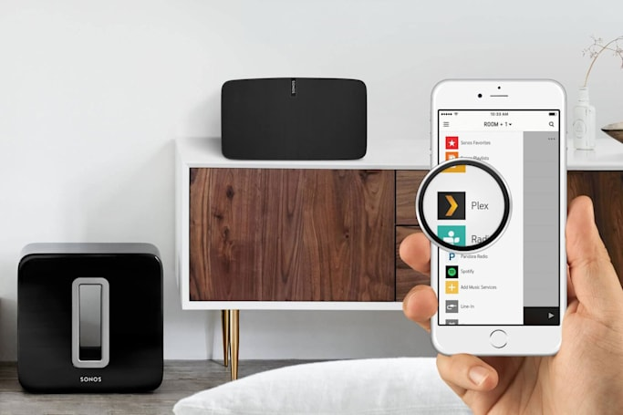 Plex streams your music collection to Sonos speakers