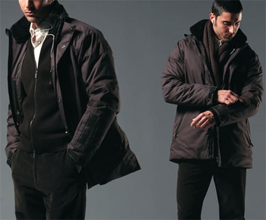 Zegna Sport integrating ElekTex controls in Bluetooth iJACKET