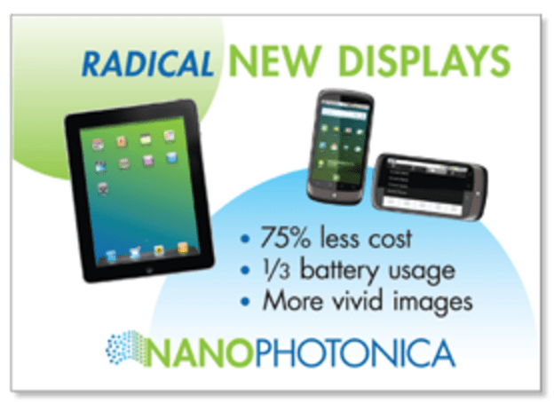 NanoPhotonica develops S-QLED, OLED to develop inferiority complex soon