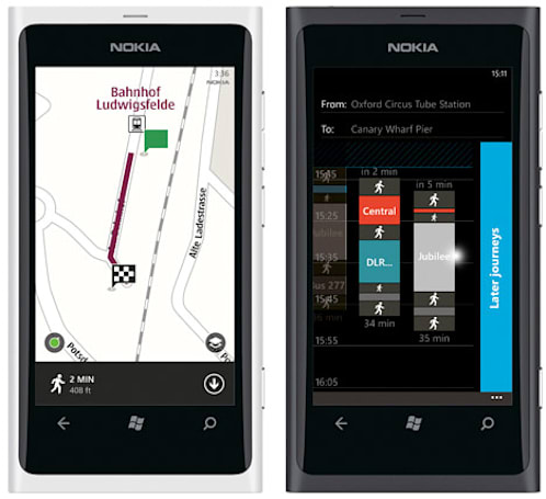 Nokia Drive gets full offline access, Maps / Transport also updated