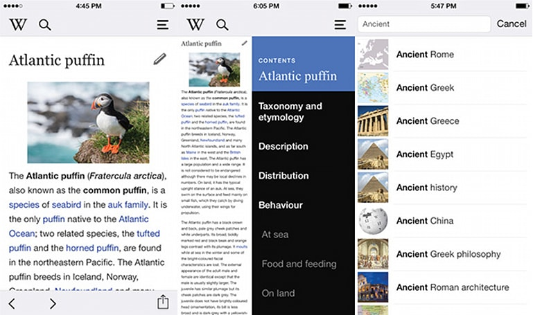 Wikipedia iOS app relaunches with mobile editing and a new design