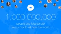 Der Facebook Messenger hat 1 Milliarde Nutzer pro Monat
