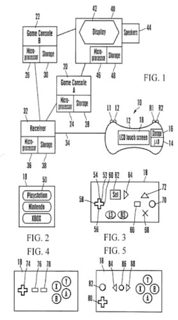 Sony patent application reveals universal, LCD-based game controller
