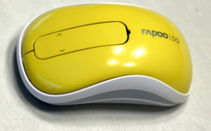 Rapoo T120P Wireless Touch Mouse: Colorful, compact