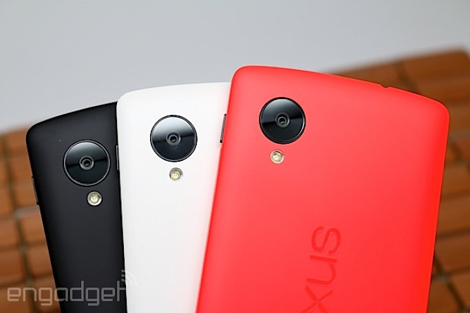This is the red Nexus 5 (hands-on)